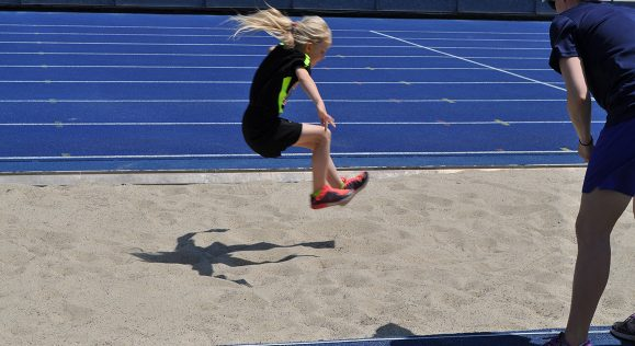Wychwood student takes first place in long jump!